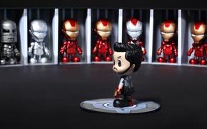 Картинка игрушки, косплей, Железный человек 3, Iron Man 3, Cosbaby, Hot Toys