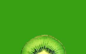 Обои фон, обои, еда, киви, долька, фрукт