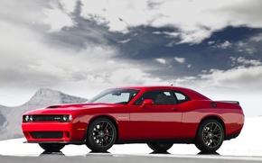 Картинка Dodge, Challenger, SRT, Supercharged with HEMI Hellcat