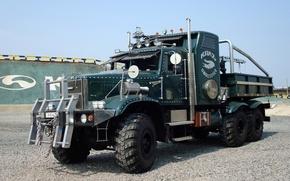 Обои грузовик, краз, автомобили, тюнинг