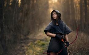 Картинка девушка, лук, стрелы, The hunter arrives, The Remedy, James Stewart
