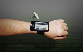 Картинка рука, антенна, интернет