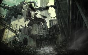 Картинка штурмовик, Альянс, цитадель, повстанцы, Half-life 3, сопротивление
