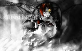 Картинка арт, Школа убийц, Gunslinger Girl, Weapon Blood & Technology, hisakata souji