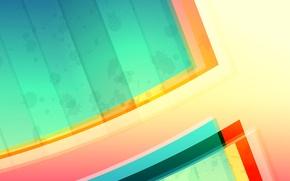 Картинка цвет, слой, объем, свет, линии