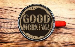 Обои cup, кофе, good morning, coffee