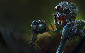 Картинка механизм, жук, существо, арт, Dota 2, Nyx Assassin, Lothrean
