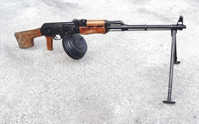 Картинка индекс 6П2), «ручной пулемет Калашникова», (РПК, В 1961 г. на вооружение поступил
