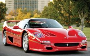 Картинка машина, Ferrari, феррари, F50, Preserial