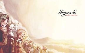 Картинка когда плачут цикады, Higurashi, When They Cry