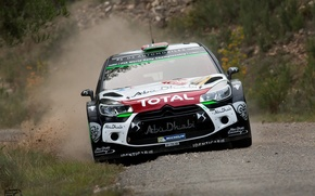 Картинка Citroen, DS3, WRC, Rally, Mads Ostberg, Фас