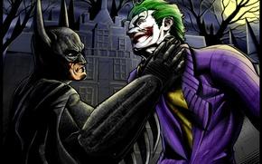 Картинка Batman: Arkham Asylum, Batman, Joker, arkham