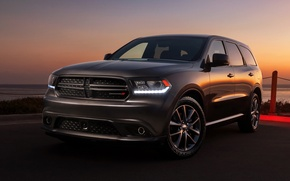 Картинка авто, закат, Dodge, додж, дюранго, Durango, R/T