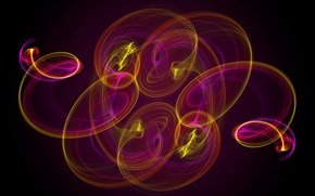 Картинка colors, abstract, background, neon, fractal
