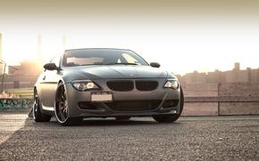 Картинка чёрный, бмв, BMW, матовый, блик, 645i, 6 Series, E63