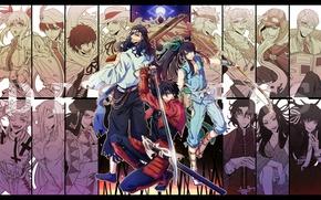 Картинка оружие, аниме, арт, персонажи, Drifters