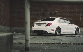 Картинка TUNING, WALD, MERCEDES, BENZ, BLACK BISON, W222, S-CLASS