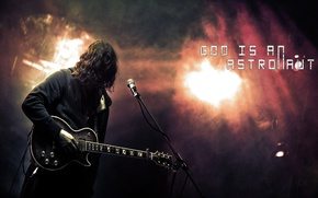 Картинка guitar, rock, God is an astronaut, post-rock