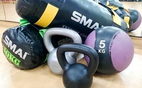 Картинка fitness, Russian dumbbell, equipment