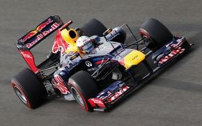 Картинка Гонщик, Formula 1, Vettel, Чемпион, Korea, Sebastian