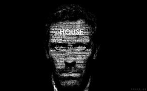 Обои hugh laurie, Хью Лор, надписи, House M.D., Доктор Хаус