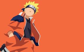 Картинка game, Naruto, minimalism, anime, orange, ninja, hero, asian, manga, hokage, shinobi, japanese, Naruto Shippuden, Uzumaki …