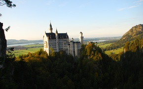 Картинка forest, germany, castel