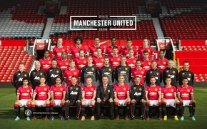 Картинка Old Trafford, MUFC, 2014/2015, Manchester united squad