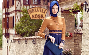 Картинка modern hijab clothing, Turk, girl. model