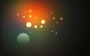 Обои круги, цвета, текстура, абстракция