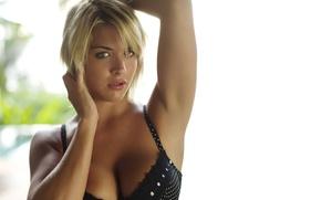 Обои джемма аткинсон, модель, грудь, взгляд