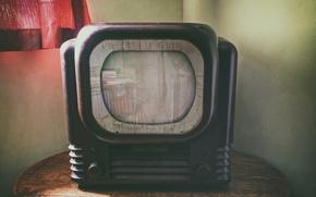 Картинка фон, комната, телевизор, HD Ready