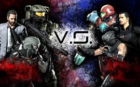 Картинка шлем, Halo, броня, Ninja Gaiden, Mass Effect, Raiden, Metal Gear Rising: Revengeance, Shepard, Jack, Ryu ...