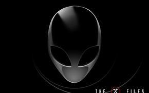 Картинка НЛО, I want to believe, The X-Files