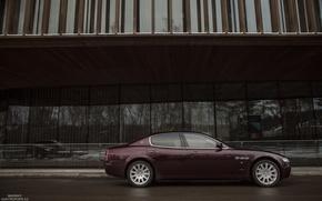 Обои Alex Bazilev, бок, Maserati, Quattroporte, photography, photographer, auto, Alexander Bazilev, машина, фотограф, Александр Базилев