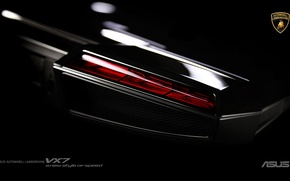 Картинка Lamborghini, Ноутбук, Black, ASUS, Hi-Tech, VX 7, Noutbook