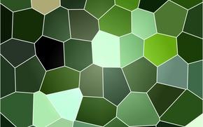 зелёный, витраж, фон, текстура обои