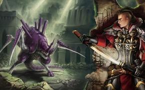 Картинка armor, samurai, sci fi