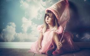 Картинка фея, девочка, маленькая