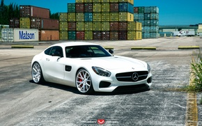 Картинка Mercedes Benz, AMG, Forged, Vossen, Precision, Series VPS-306