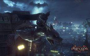 Картинка The Dark Knight, Batman, Gotham City, Batman Arkham Knigth