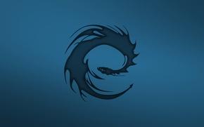 Картинка дракон, минимализм, Eragon