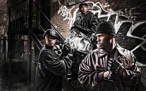 Картинка 50 Cent, Lloyd Banks, G-unit, Tony Yayo