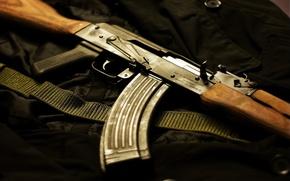 Обои оружие, Автомат Калашникова