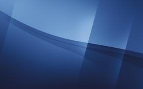 Обои линии, синий, абстракция, цвет, color abstract