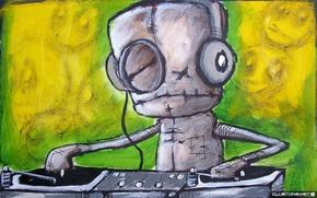 Картинка музыка, рисованный