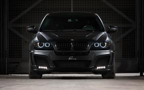 Обои Black, Фары, BMW