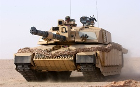 Картинка человек, башня, танк, ствол