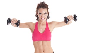 Обои fitness, dumbbells, small weights