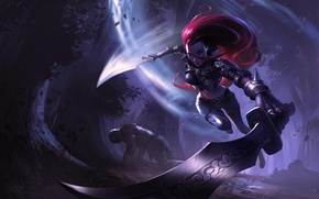 Картинка меч, lol, League of Legends, Katarina, Sinister Blade